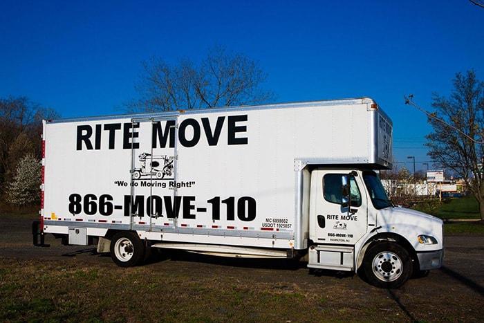 Rite Move moving truck