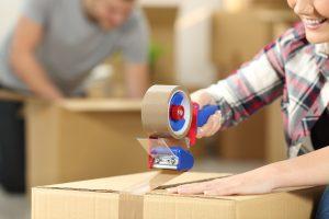 Taping Moving Boxes - Hamilton, NJ - Rite Move